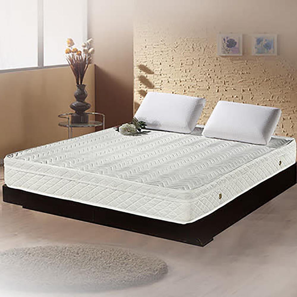 【舒好眠】享樂生活3M防潑水三線獨立筒床墊 3.5X6.2尺 單人加大