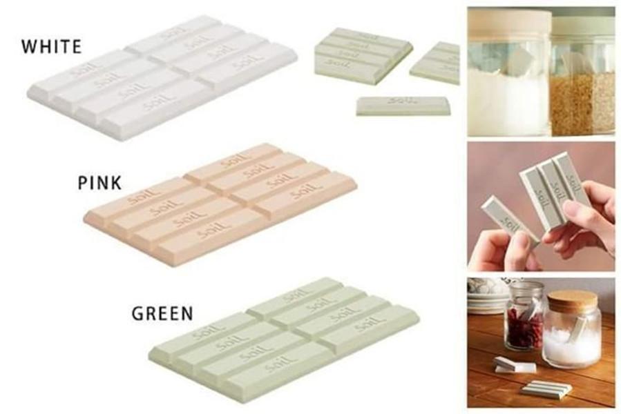 日本正版 soil 珪藻土(8條) 天然乾燥劑 矽藻土 吸濕 防潮 防霉 防結塊 日本製 天然防潮片