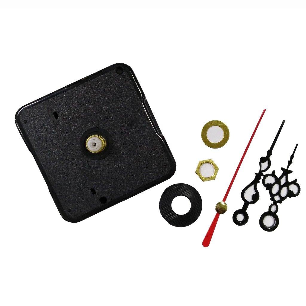 靜音 時鐘機芯 時鐘機心 掛鐘機芯 附指針 DIY 時鐘 掛鐘 螺紋長6mm/14mm