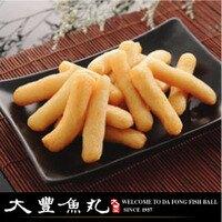 【大豐魚丸】火鍋料鍋物炸物專家-甜不辣(小條)-燒烤必備600g(大份)