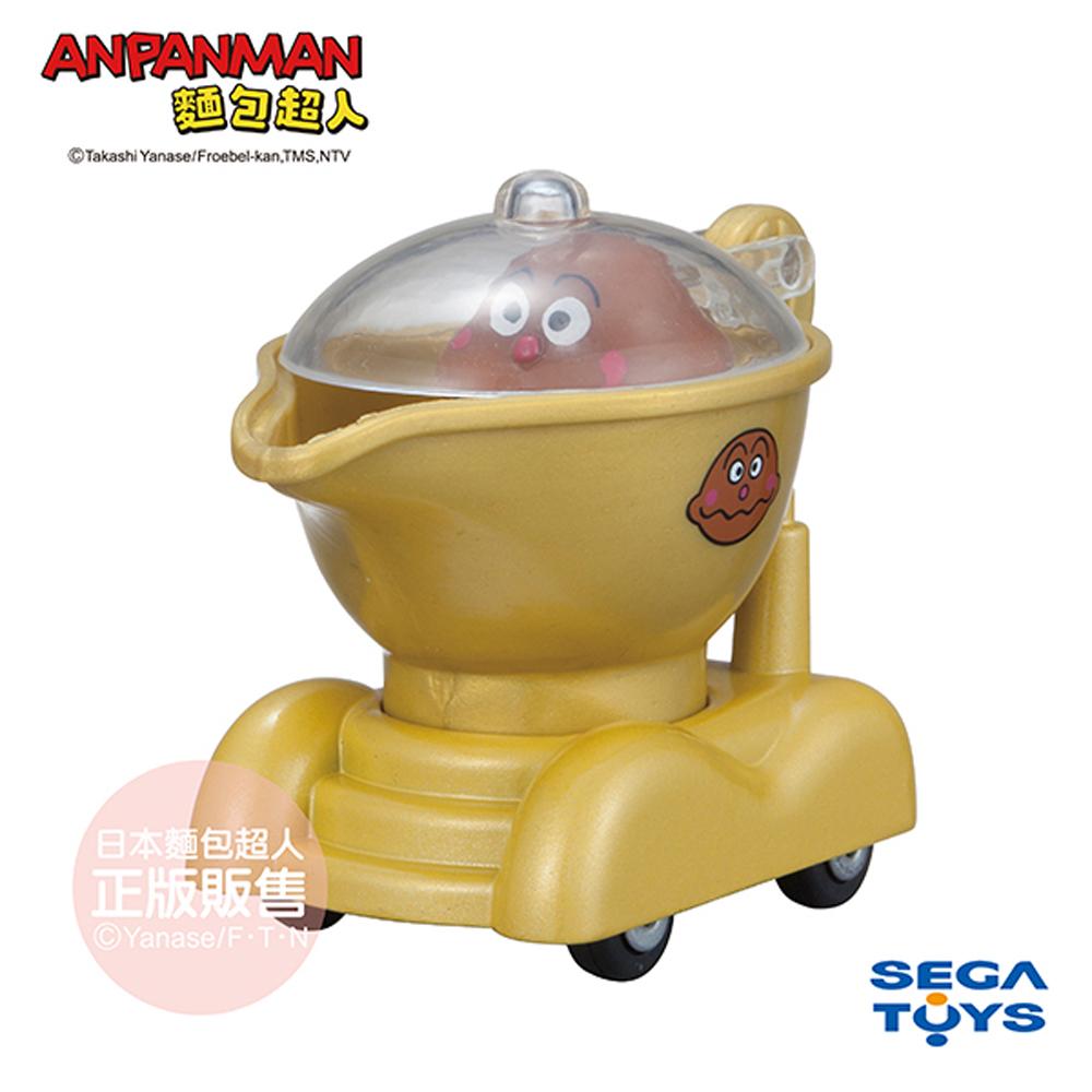 日本麵包超人-GOGO小汽車 咖哩麵包超人號&咖哩麵包超人(3歲-)