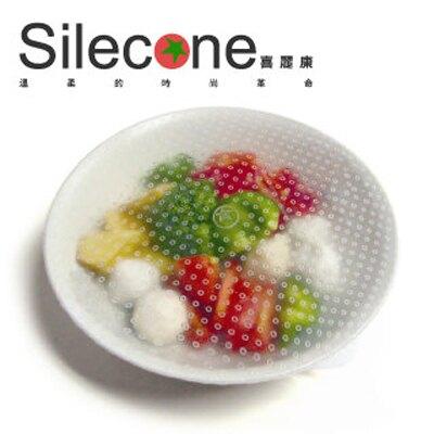 【Silecone喜麗康】食品級矽膠保鮮膜超值6入組(20cm*2+15cm*2+10cm*2)