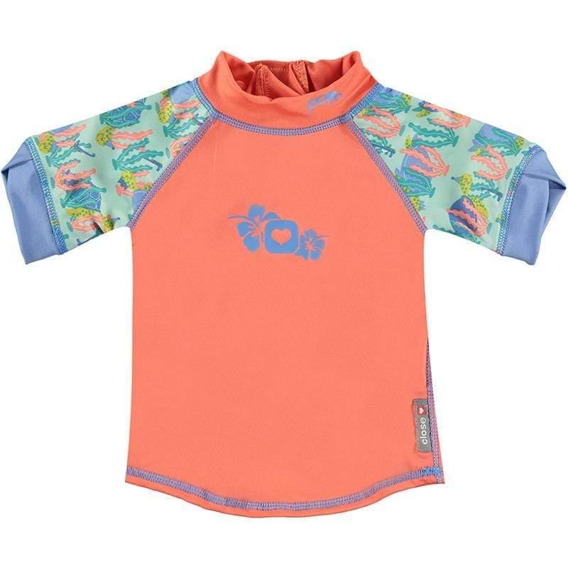 嬰兒短袖泳衣-海龜 2XL