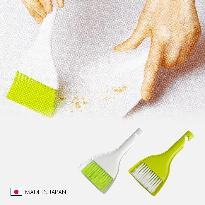 日本製 小掃把 笨斗 畚箕 清潔打掃 桌面清潔 細縫 鍵盤清潔 灰塵  【SV3133】快樂生活網