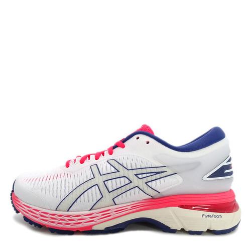 Asics GEL-Kayano 25 [1012A026-100] 女鞋 運動 慢跑 休閒 白 粉紅