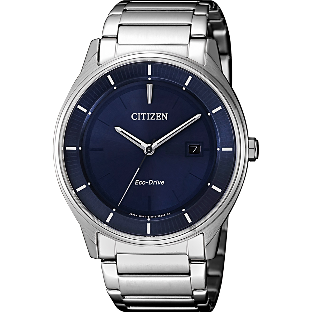 CITIZEN 星辰 光動能城市手錶-藍x銀/40mm  BM7400-80L