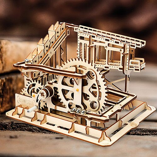 《Robotime》木製 拼圖 ROB/LG502 滾珠系列 Cog coaster 東喬精品百貨