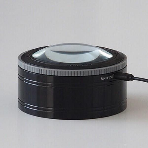 smolia led三段式調光usb充電放大鏡
