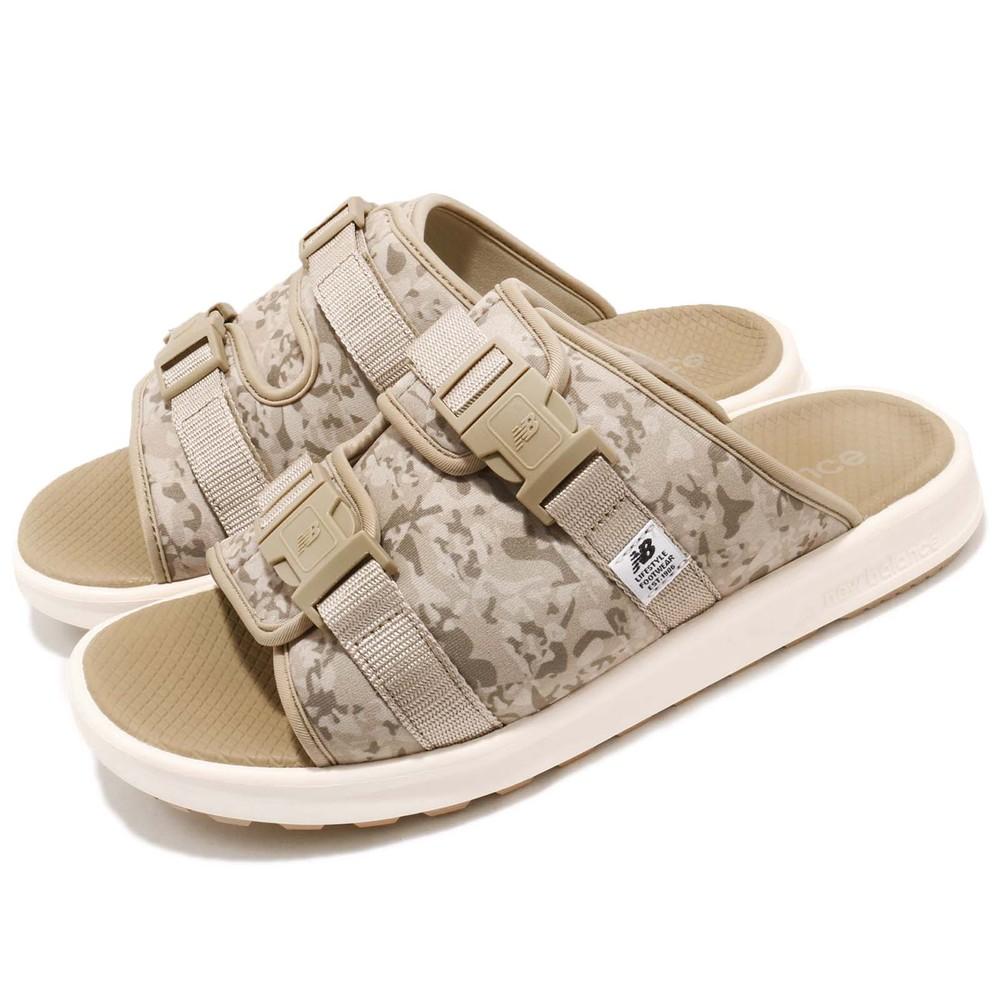 NEW BALANCE 拖鞋 330BE D 男鞋 女鞋 紐巴倫 復古 情侶鞋 沙漠迷彩 卡其 米白 [SDL330BED]