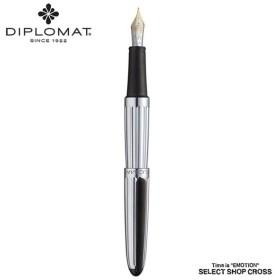 ディプロマット DIPLOMAT 万年筆 Aero アエロ Factory ファクトリー 14金ペン先 ポイント消化