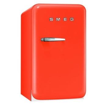 SMEG(スメッグ) 1ドア冷蔵庫42L/右開き オレンジ FAB5URO