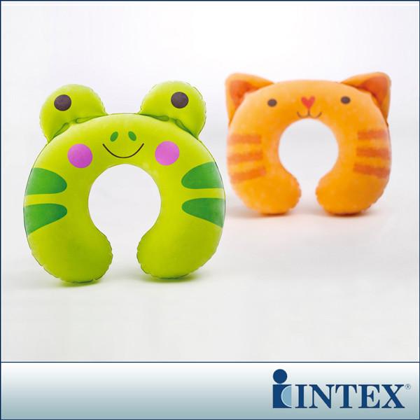 intex充氣護頸枕-動物造型隨機出貨(68678)