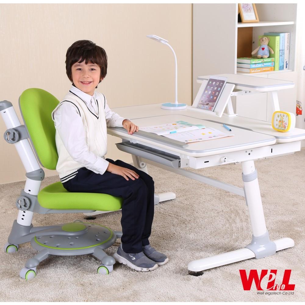 【威爾人體工學 】兒童成長桌(可選配書架/椅子)