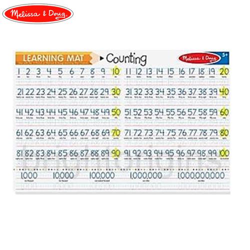 Melissa&Doug 學習墊-數字1-100(5037)