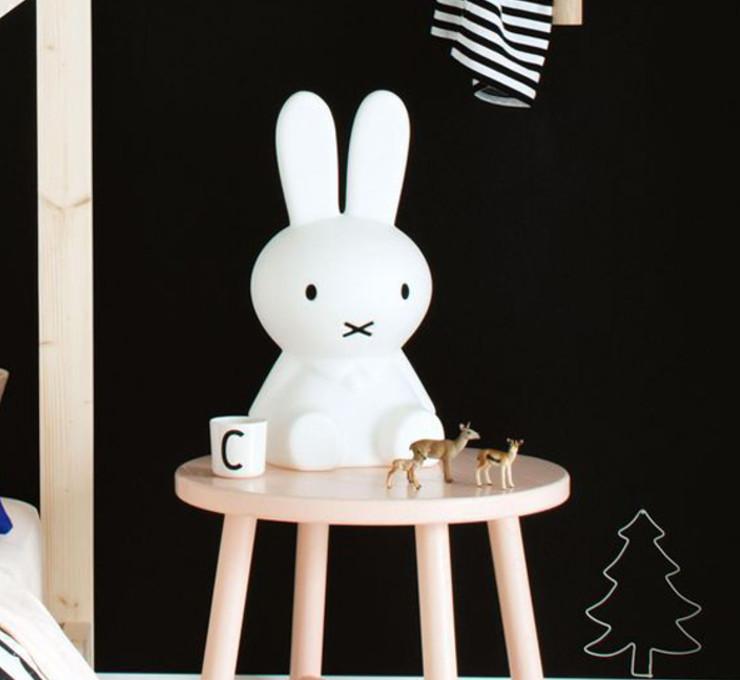 miffy米菲兔坐姿擁抱燈 50cm高 可愛療癒造型led夜燈