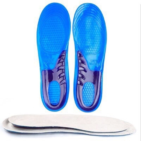 矽膠雙重防震減壓高彈運動鞋墊 男女款