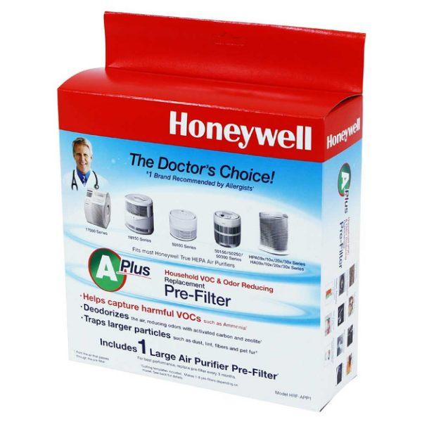 【美國Honeywell】CZ前置活性碳 除臭濾網 HRF-APP1 (適用Honeywell多種機型)
