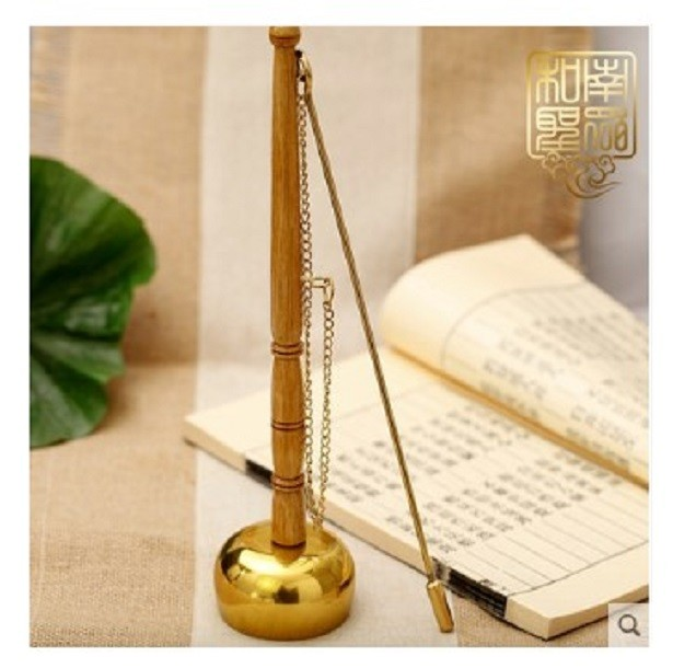 佛道教用品純銅高腳引磬銅罄引慶寺廟佛堂念佛唱誦經功課法器用具