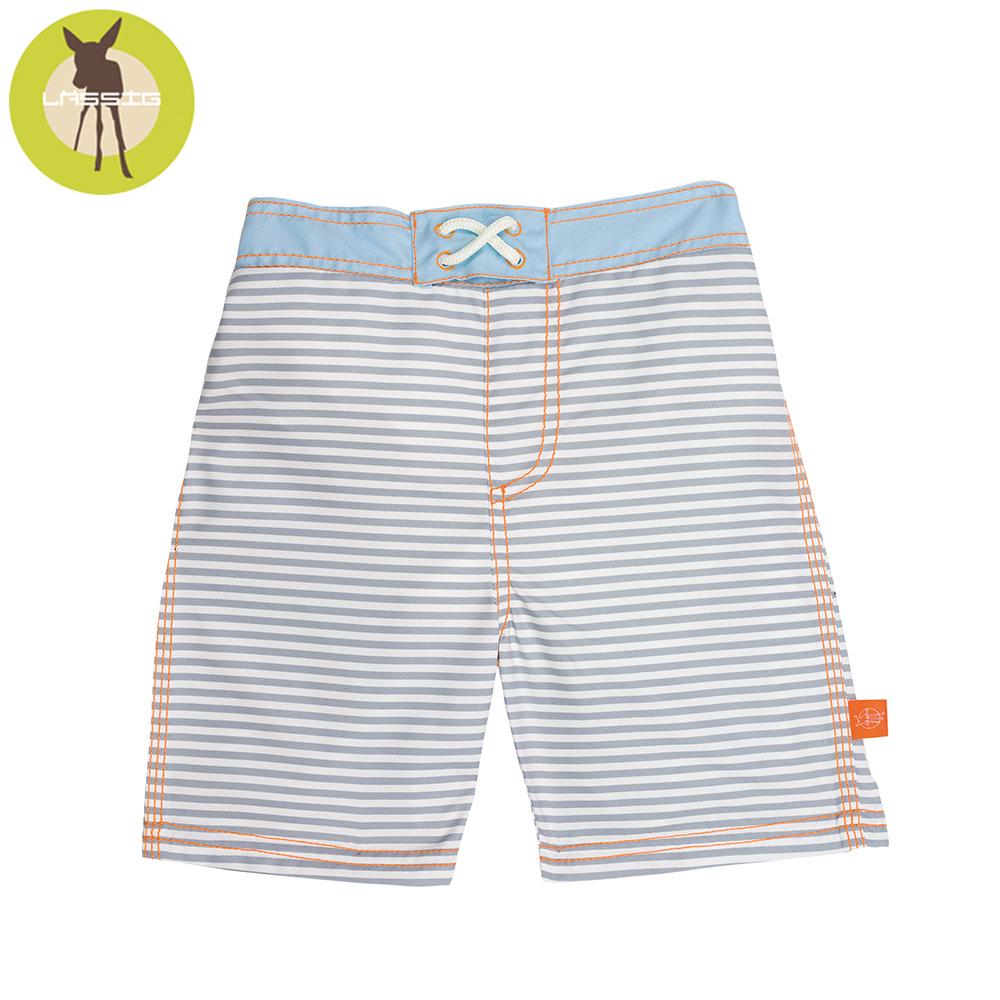 德國Lassig-嬰幼兒抗UV海灘尿布褲-水手條紋