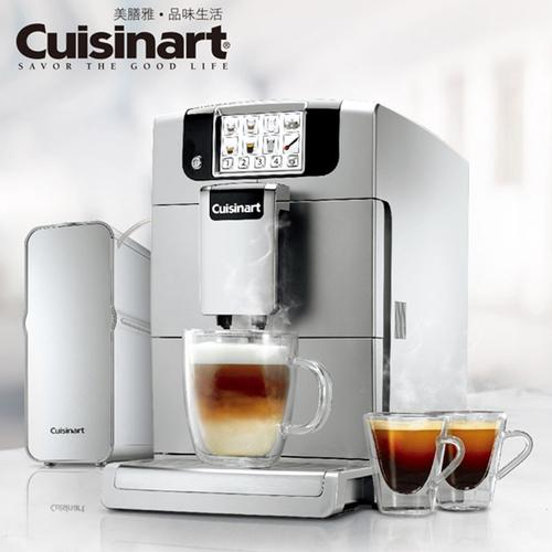【CUISINART美膳雅】全自動義式濃縮咖啡機 EM-1000TW