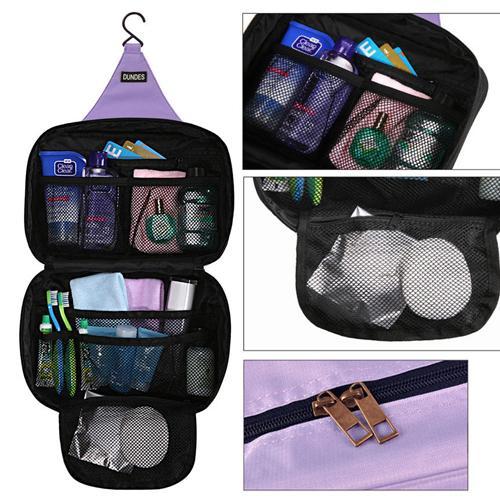 【iSFun】旅行專用*多袋收納盥洗包/多色