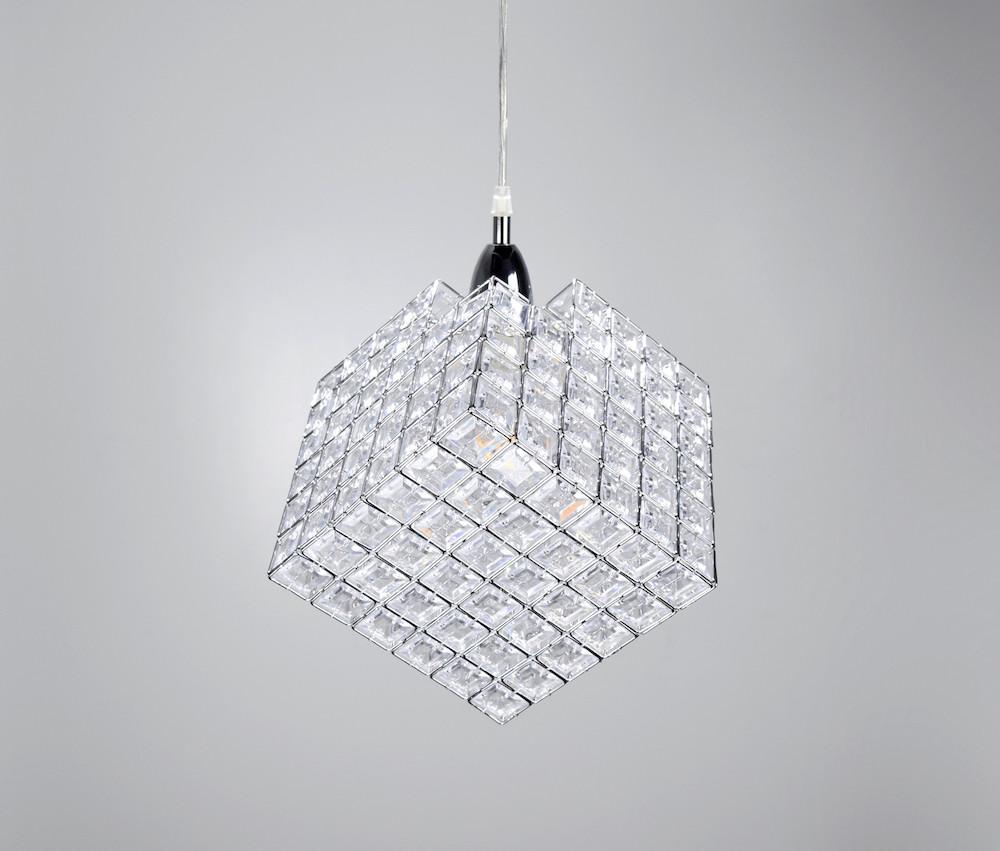 現代簡約菱形吊燈