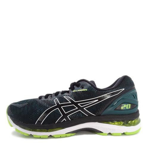 Asics GEL-Nimbus 20 [T800N-004] 男 鞋 運動 慢跑 健走  休閒  黑  綠