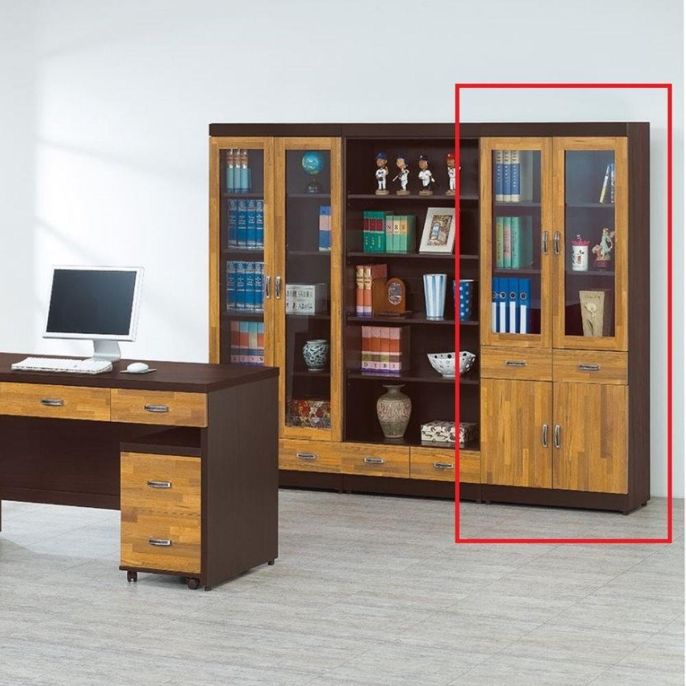 【MUNA】巴特萊2.7尺中抽書櫃