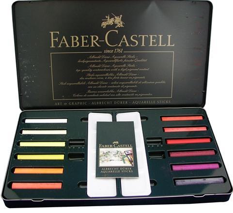 【FABER-CASTELL】輝柏 127520  藝術家級精緻水彩顏料 20色高級鐵盒