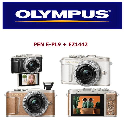 OLYMPUS  E-PL9 +14-42EZ 電動鏡組(公司貨) 贈高速128G+電全配組