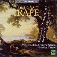 拉富:第五號交響曲「蕾諾拉」 Joachim Raff: Dame Kobold Overture Op. 154, Symphony No. 5 Op. 177 (CD)【Dynamic】