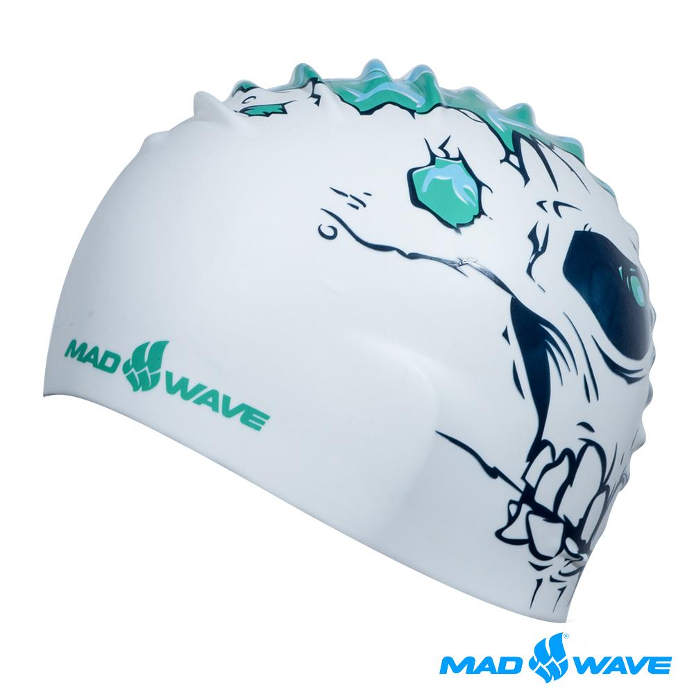 俄羅斯MADWAVE SKULL 成人矽膠泳帽
