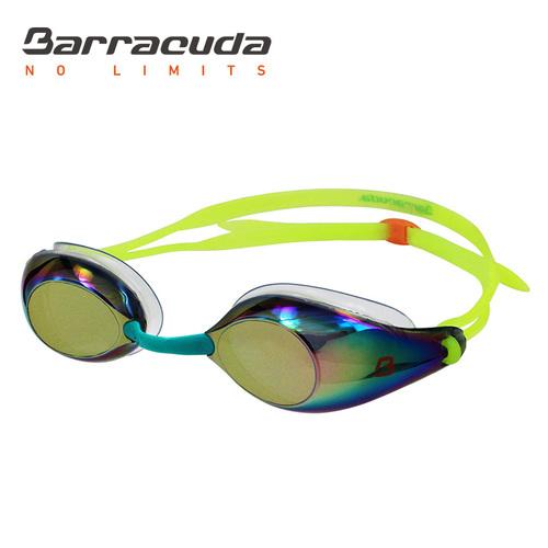 美國巴洛酷達Barracuda成人競技電鍍防霧泳鏡-LIQUID WAVE-#91510