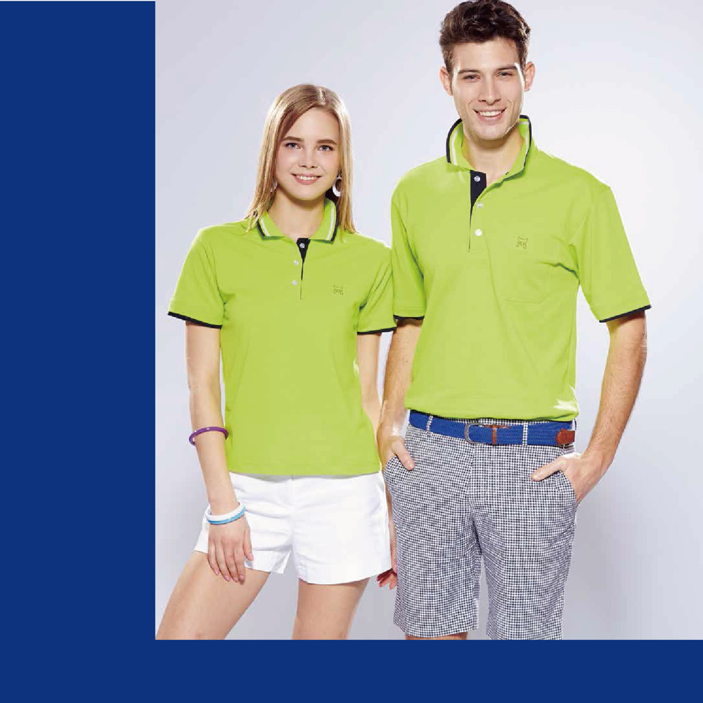 女版短袖polo衫(afq207-04)男版短袖polo衫(afq107-04)