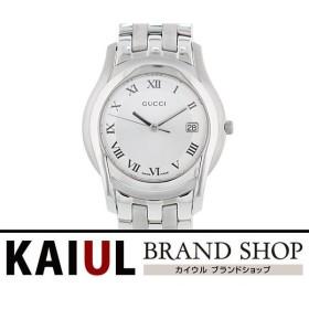 グッチ Gクラス クオーツウォッチ 5500M(YA055305) SS シルバー メンズ 腕時計 SAランク