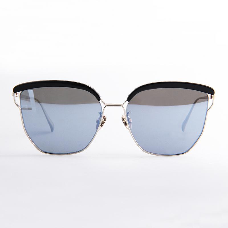 時尚貓眼款(亮面黑)太陽眼鏡