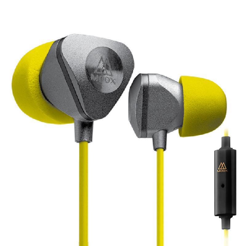 X9iS入耳式線控耳機-金屬銀