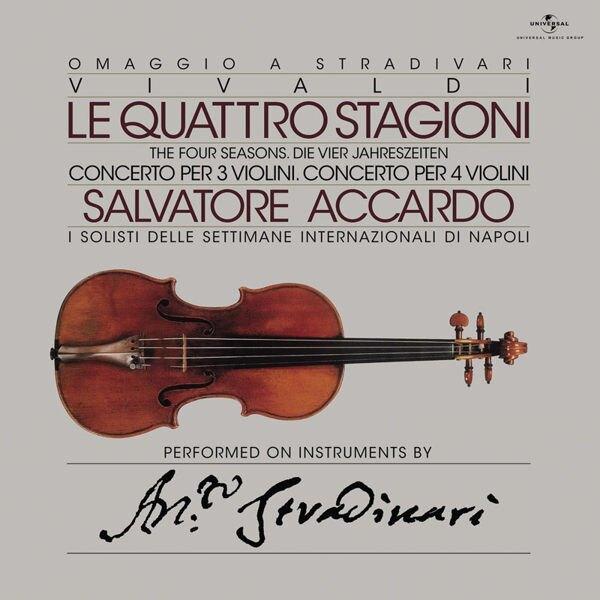 【停看聽音響唱片】【黑膠LP】阿卡多 / 韋瓦第:四季小提琴協奏曲