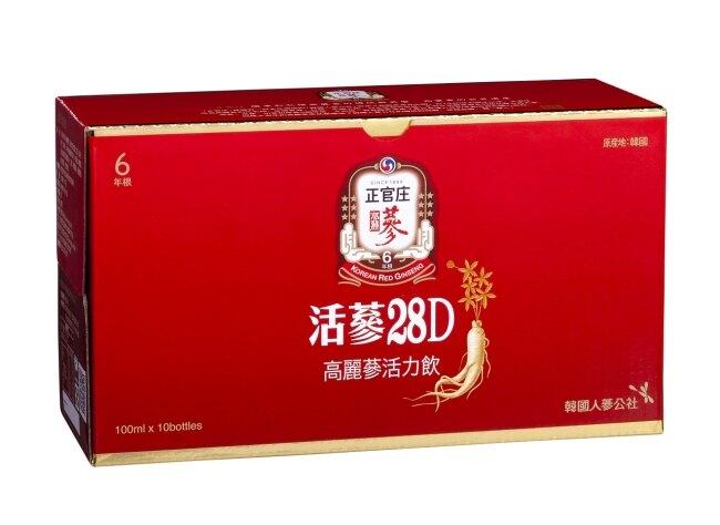 正官庄 活蔘28D滋補液100ml*10入
