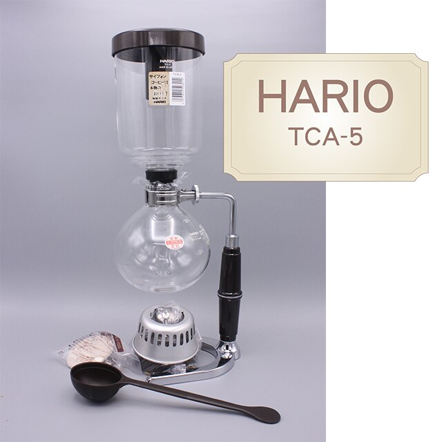 HARIO TCA-5 虹吸式咖啡壺 (1-5人份) 塞風咖啡壺 (贈送攪拌棒)《vvcafe》