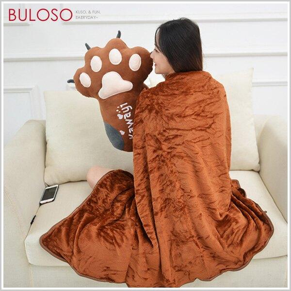 《不囉唆》可愛熊掌抱枕毯 被子/靠枕/毛毯/小涼被/車用/抱枕(可挑款/色)【A426337】