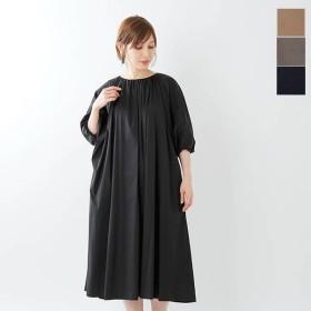 【40%OFF】08sircus サーカス ストレッチブロードギャザードレス s19al-dr06