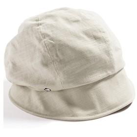 クイーンヘッド UVカット 3サイズダウンハット 帽子 レディース 大きいサイズ つば広 ハット 小顔効果 UV 紫外線カット【フリー56-58.5c