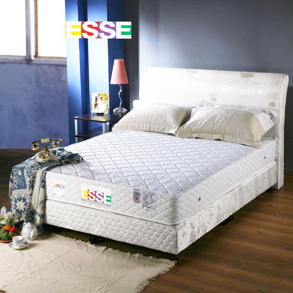 《ESSE 御璽名床》【精緻手工】二線獨立筒床墊 5x6.2尺 -雙人