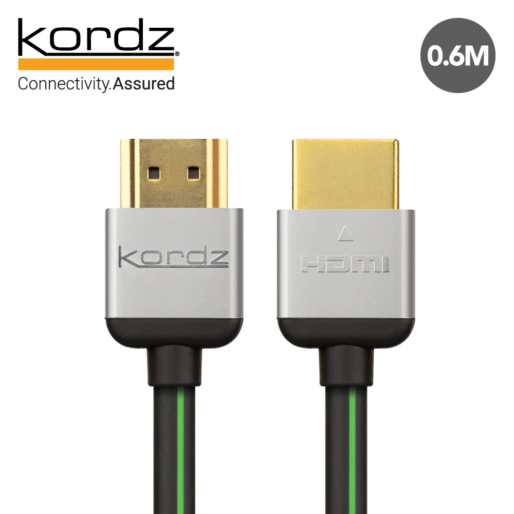 【Kordz】EVO 高速影音HDMI傳輸線 0.6M