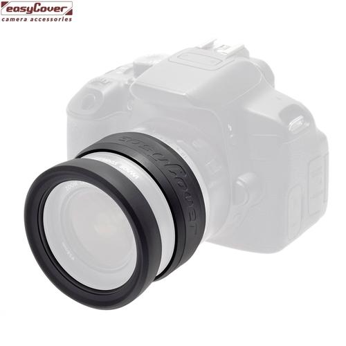easyCover彈性矽膠77mm鏡頭保護套Lens Rim(開年公司貨)保護光圈環對焦環鏡頭保護環鏡頭防撞套