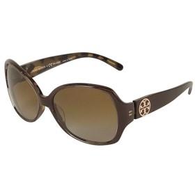 トリー・バーチ TORY BURCH ロゴ サングラス サングラス・眼鏡 プラスチック レディース  中古 PB31