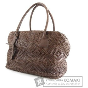 SELECT BAG セレクトバッグ 編み込み ショルダーバッグ 合成皮革 レディース 中古