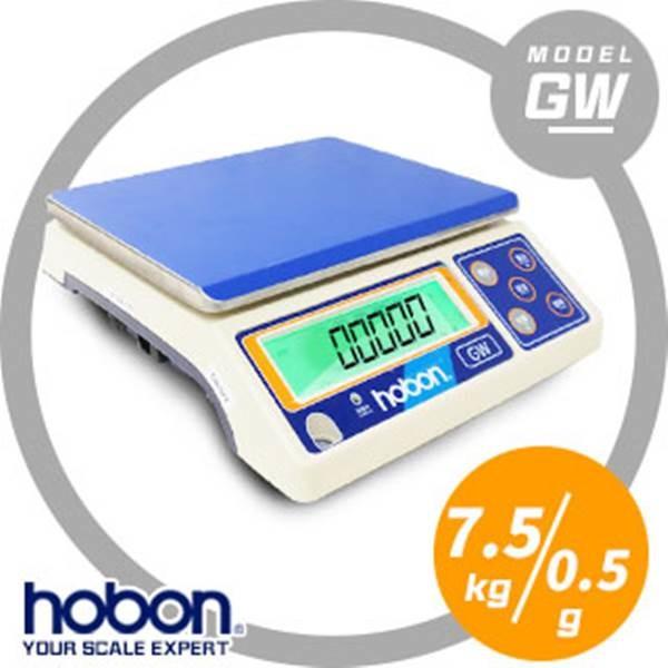 hobon 電子秤  gw計重秤 充電式超大字幕7.5kgx0.5g