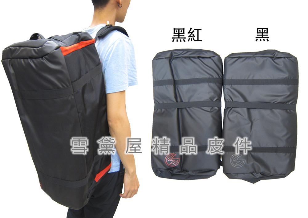旅行袋中大容量可14吋電腦防水尼龍布u型開口拉鍊式主袋髒濕分離胸前服貼釦手提後背
